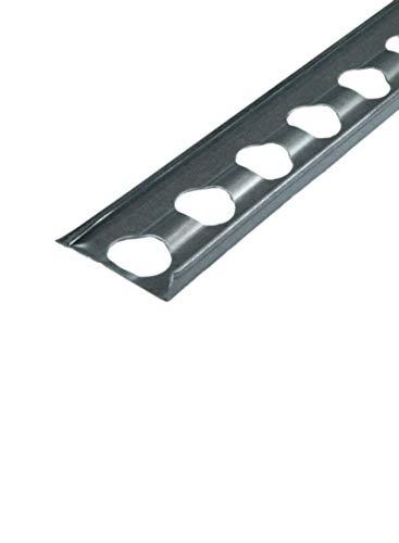 Abschlussprofil 4253 Edelstahl 250 cm Abschluss Putzprofil Putzschiene Abschlusschiene 2,5m