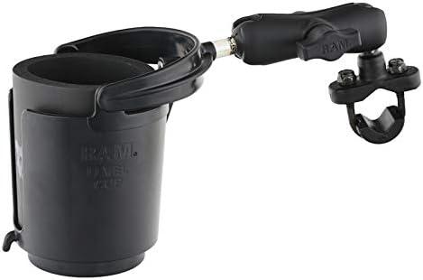 RAM Level Cup 16oz Drink Holder with Handlebar U-Bolt Base