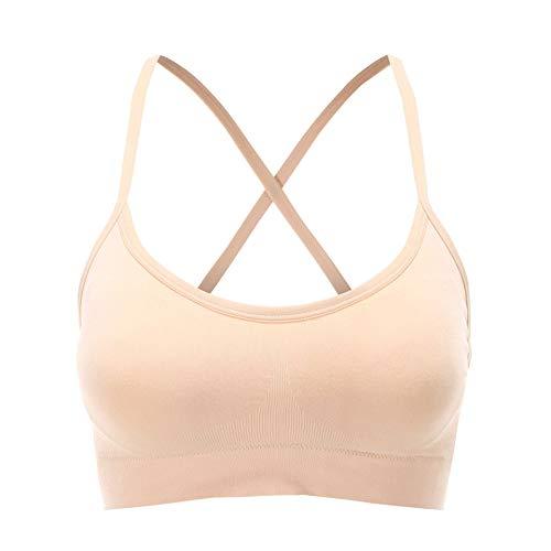 Eenvoudig, geen stalen ring, naadloze beha, beha, cup, verwijderbare borstpad, vest, bretels, ondergoed