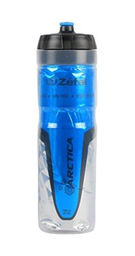 Zefal 165B, Arctica Bidon de ciclismo Isothermo, Unisex Adulto, Azul, 750 ml