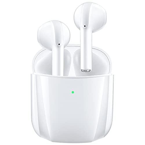 Bluetooth Kopfhörer in-Ear ohrhörer, VOTUENIX Kabellose Kopfhörer mit HiFi Stereo & Mikrofon, Wireless Kopfhörer mit Type-C Quick Charge, Wireless Earbuds mit Premium Klangprofil für Sport/Arbeit