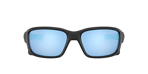 Oakley Straightlink 933105 58 Occhiali da Sole, Nero (Matte Black/Prizmdeeph2Opolarized), Uomo