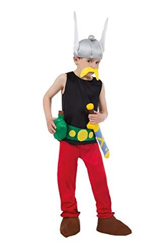 Chaks–cs805301/104–Kostüm–Kostüm Lizenz Asterix 9-teilig, 104cm