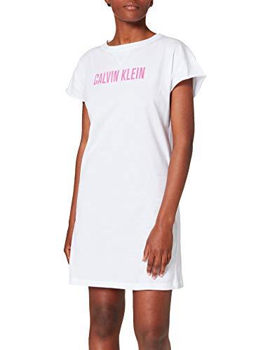 Calvin Klein Damen Dress berwurf fr Schwimmbekleidung, Pvh Classic Weiß, Small