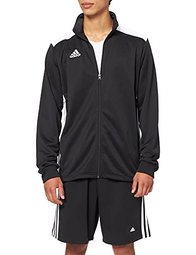 Adidas Regista 18 Track Top Chaqueta Deportiva, Hombre, Negro (Black/White), XS