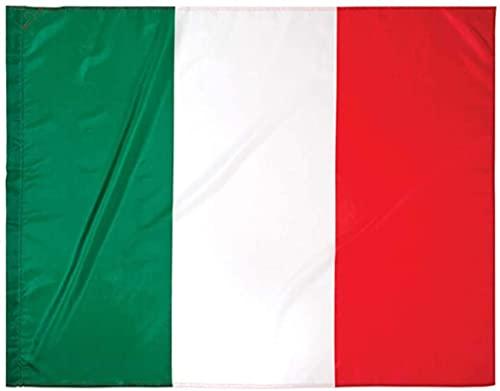 Bandiera Italia Tricolore 90 x 150 Per Esterno o Interno Passante Per L'Asta