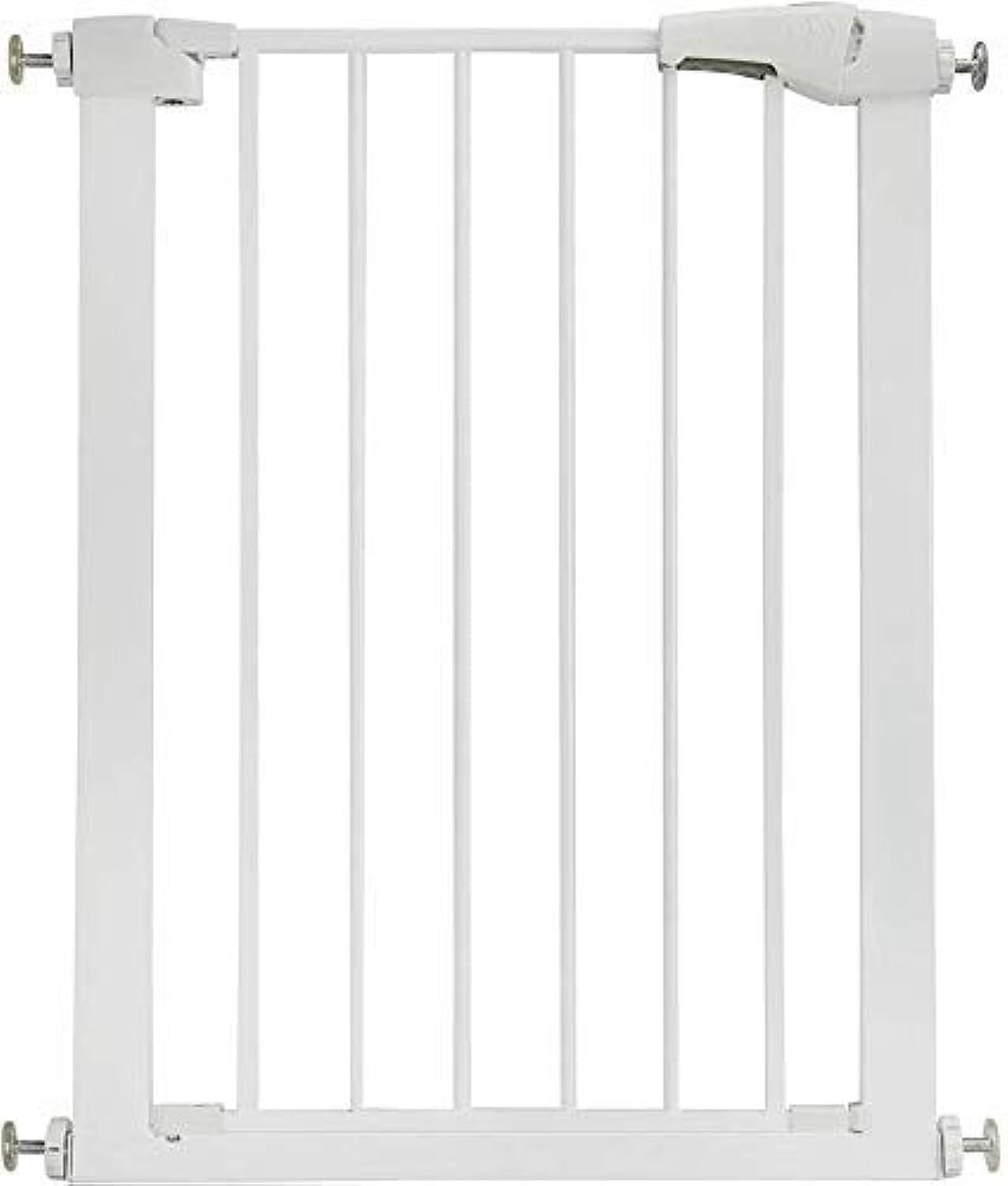 呼び出す二ルネッサンス階段と廊下の壁に取り付けられたデュアルロックベビーゲート簡単にインストール調整可能な余分な安全階段子供安全ドアパンチフリーペットフェンス圧力固定(H 78 cm)