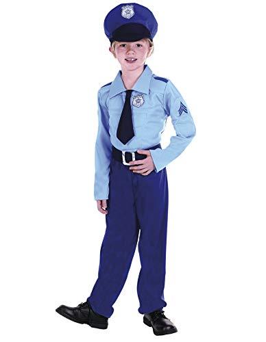 PARTY FIESTA Disfraz Policía Niño (7-9)