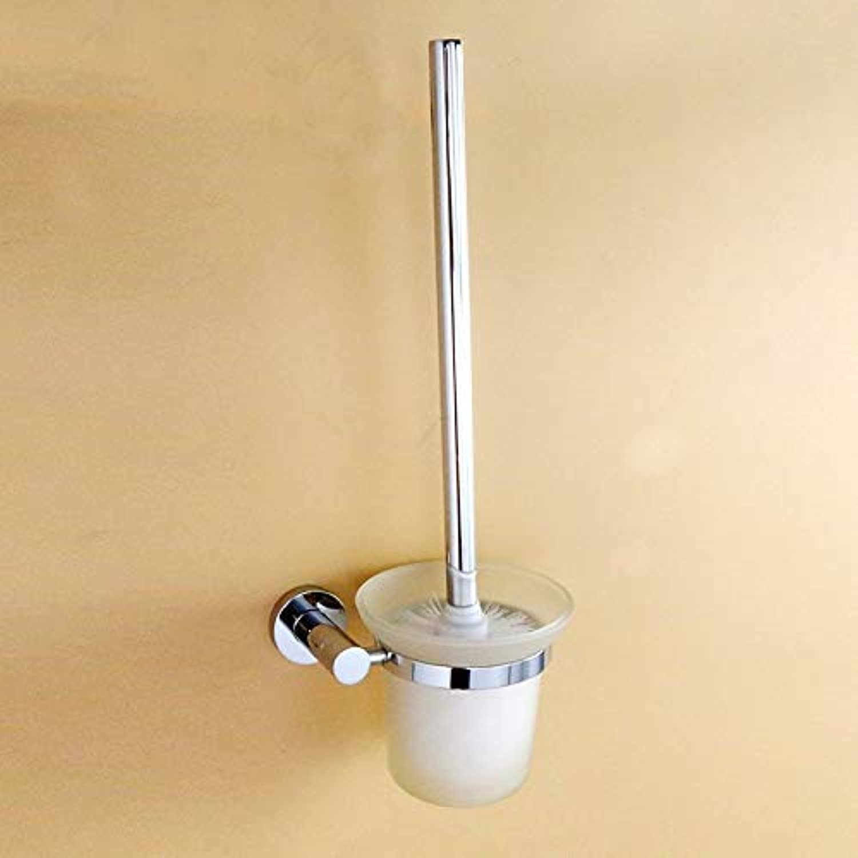 XIAOL Home Toilettenbürste und Halter Kupferbasis WC-Bürstenhalter-Set weiches Haar Toilettenbürste