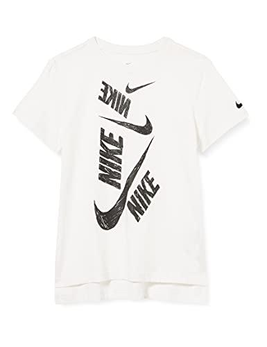Nike Kinder NSW DPTL Swoosh T-Shirt, White, L