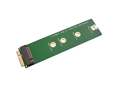 Kalea-Informatique Adaptador M.2 (muescas M2 NGFF B SATA) para Asus Zenbook UX21/UX31, para montar una ranura SSD M.2 en lugar de la ranura SSD original