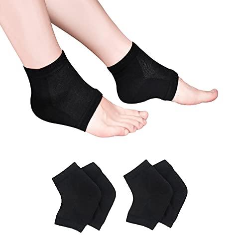 Moisturizing Socks, Moisturizing/Gel Heel Socks for Dry Cracked Heels, Ventilate Gel Spa Socks to...