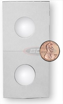 1000 + 100 (1,100) Premium BCW 2 X 2 Penny Size Coin Holders