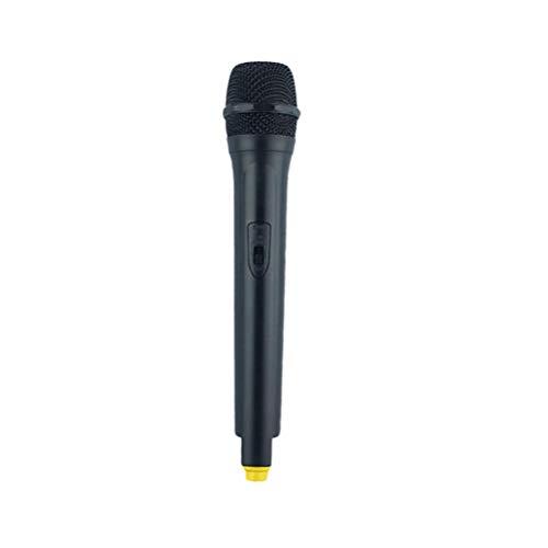 STOBOK Micrófono de Juguete Micrófono Falso Micrófono Inalámbrico Karaoke Micrófono Fiesta Favor Educativo Juego de Imaginación Accesorios Vestir Disfraces Accesorios Estilo Normal