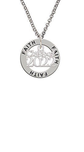 Delight Jewelry Class of 2022 - Faith Affirmation Ring Necklace