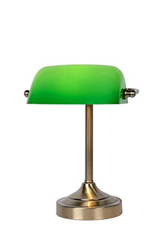 Lucide BANKER - Lampe De Bureau - Bronze 03