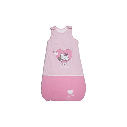 Hello Kitty 041777 Celestron Tine/en velours velours Sac de couchage 90 cm