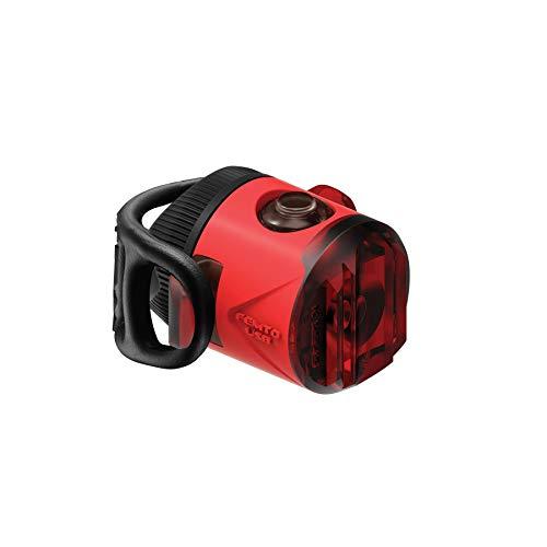 Lezyne Femto Rücklicht, LED, wiederaufladbar, USB, Unisex one Size rot