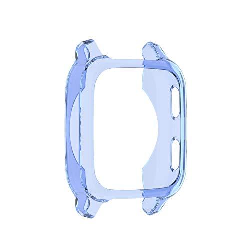 Molare Protector De Pantalla con Venu SQ, Estuche para Reloj Deportivo Parachoques De TPU Suave Cubierta Protectora Antirrayas para Venu SQ