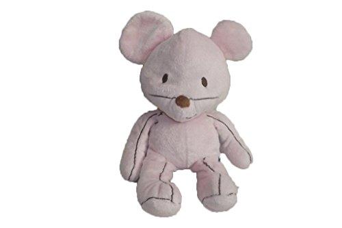 X- otros–Doudou itslmagical ratón rosa y marrón 28cms–6066