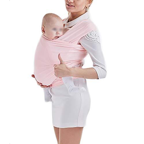 G&F Abrigo Bebé Portabebés Sling Ajustable Cubierta Lactancia Cabestrillo Infantil Recién Nacido Bebés Y Niños hasta 20 Kg (Color : Pink)
