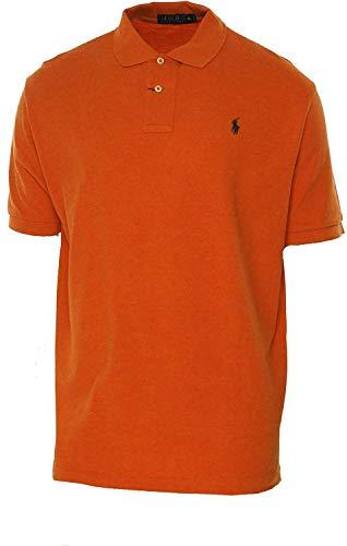 Polo Ralph Lauren Men Classic Fit Mesh Polo Shirt, Navy, XX-Large