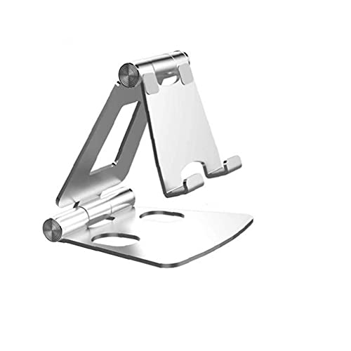 Tableta Tableta Tableta Plegable Ajustable Tableta Tableta Tableta Aluminio Aleación Escritorio Soporte Suelo Plata