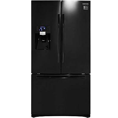 Samsung RFG23UEBP G-Series American Fridge Freezer, Black A Plus Rated