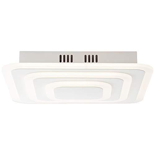 AEG lamp Caresa LED plafondlamp 37x37cm zand/wit |1x 48W LED geïntegreerd (SMD), (4800lm, 3000K) |Schaal A ++ tot E |Traploos dimbaar via wanddimmer