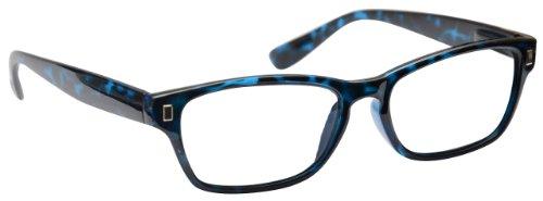 UV Reader Blau Schildpatt Lesebrille Herren Frauen UVR010BL +3, 50 / Blau Schildpatt