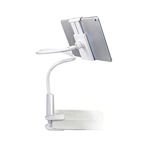 Lazy Mobile Phone Bracket, Desktop houder voor Tablet Phone Rotatable groot scherm Stand Bedside Bureau Mobile Phone Bracket,White,70CM