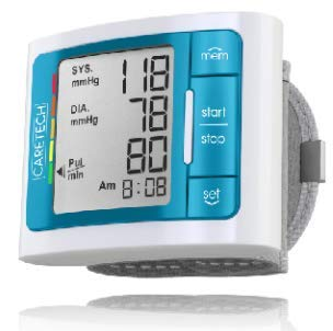 BPM-337BLUE BP Blood Pressure Monitor with Memory Storage