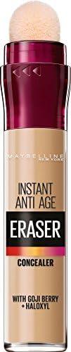Instant Anti Age Eraser Eye Concealer, Dark Circles and Blemish Concealer, Ultra Blendable Formula, 00 Ivory