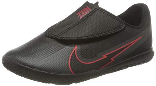 Nike Jr. Vapor 13 Club IC PS (V), Football Shoe, Black/Black-Dark Smoke Grey, 25.5 EU