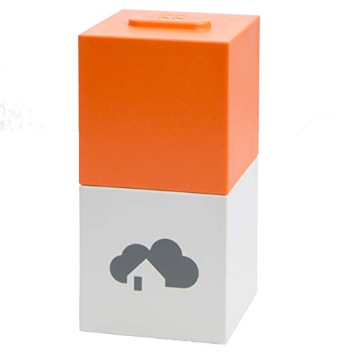 homee Smart Home Starter-Set mit Zentrale und ZigBee Cube - Steuerung per App - Sprachsteuerung mit Alexa und Google - Siri Shortcuts - vernetzt Geräte u.a. von Philips, Osram Lightify, Paulmann