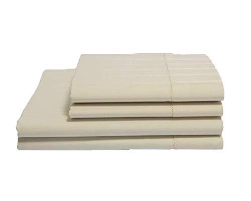 Buy Organics and More Naturesoft Organic Cotton 400 TC Luxury Stripe Sateen Sheet Sets - California ...