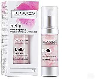 Bella Aurora Elixir de Peonía Tratamiento Facial Anti-Edad Energía y Luminosidad Reparador de Piel con Ácido Hialurónico ...