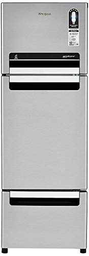 Whirlpool 260 L Frost-Free Multi-Door Refrigerator (FP 283D PROTTON ROY, German Steel)