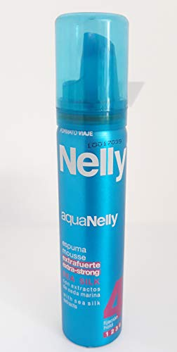 Nelly Espuma Fijación Viaje 75 ml