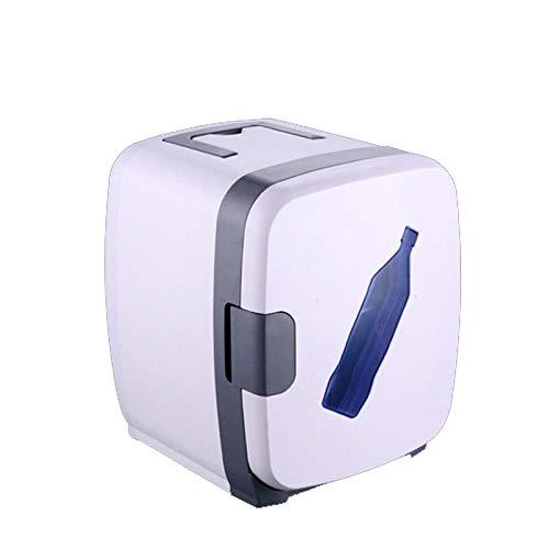 DRGRG Mini Kühlschrank Auto tragbare Kühlschrank Kühler Heizung Kleine Gefriertruhe Auto Home Dual-Use Sommer Lagerung Eisbox mit Griff