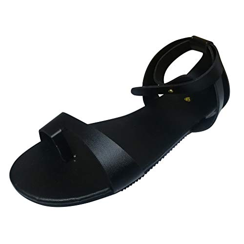Damen Beach Schuhe Open Toe Tenga Flip-Flop Flip Toe Flache Schnalle Casual Sandalen