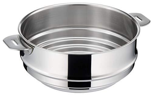 LAGOSTINA SALVASPAZIO 012135210222 Cuit vapeur Inox pour diamètre 20/22/24 cm