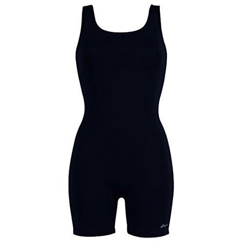 Dolfin Aquashape Women's Solid Aquatard Size: 20 Black