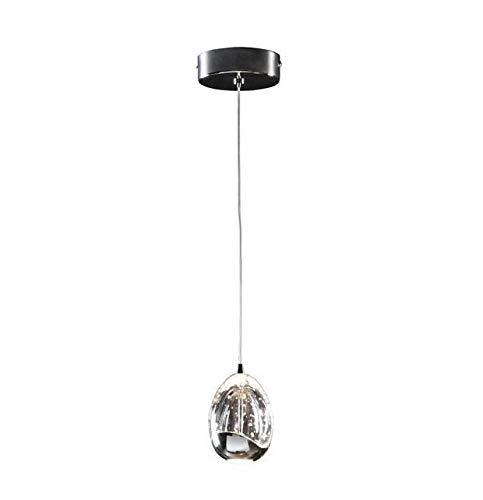 Lámpara ROCIO cromo de 9x14x9cm.