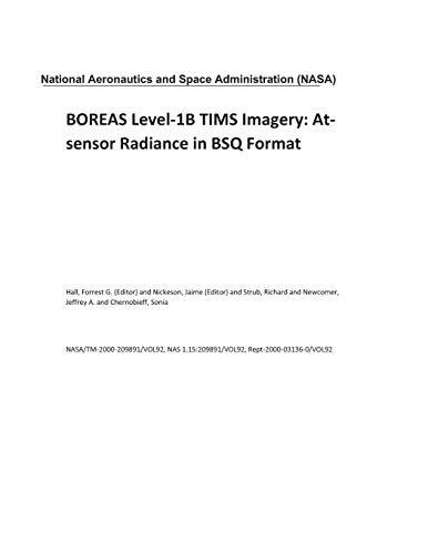BOREAS Level-1B TIMS Imagery: At-sensor Radiance in BSQ Format