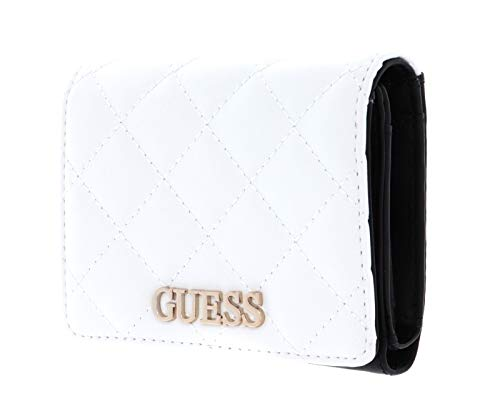 Guess Illy SLG Small Trifold White Multi