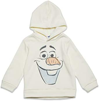 Disney Frozen Olaf The Snowman Toddler Boys Fleece Pullover Hoodie 3T White product image