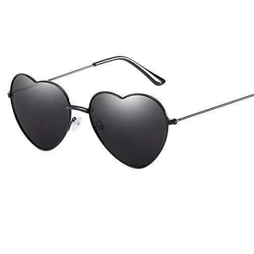 PinkLu GläSer Damen PersöNlichkeit Bunte Brille Herz Aus Metall Trendige Sonnenbrillen FüR MäNner Und Frauen Schatten Sonnencreme Mode Sommer Neuer HeißEr Verkauf 6-Farbige Brille