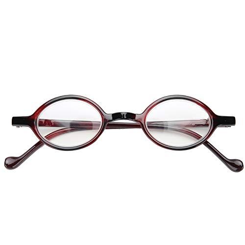 Gafas de lectura vintage, anti-luz azul, gafas para ancianos, anti-fatiga, presbicia, anteojos, luz azul, bloqueadores, alivio de la fatiga, anti-rayos azules, lentes transparentes, gafas(02)