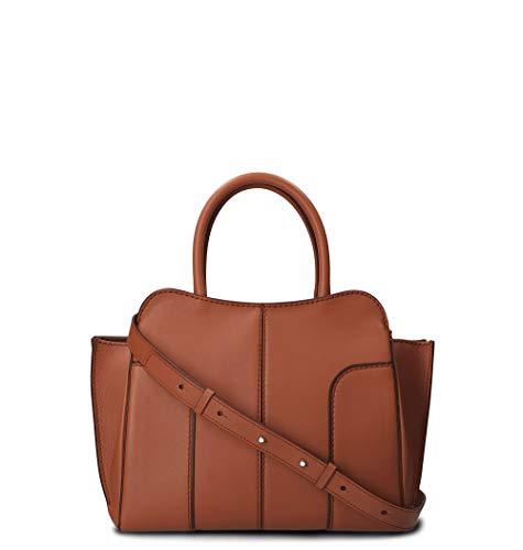 Tod's Luxury Fashion Damen XBWANDA9200MTIS012 Braun Leder Handtaschen | Herbst Winter 19